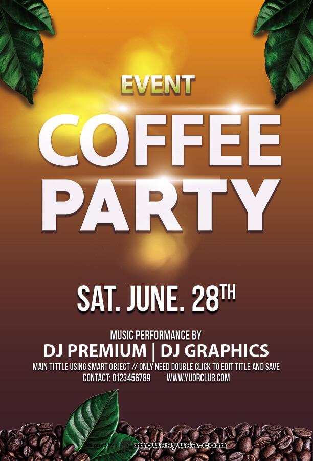 event invitation templates in photoshop