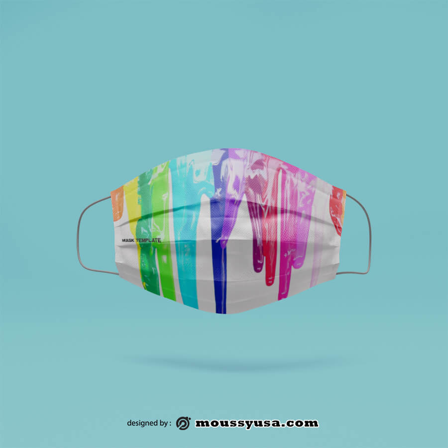 mask template example psd design