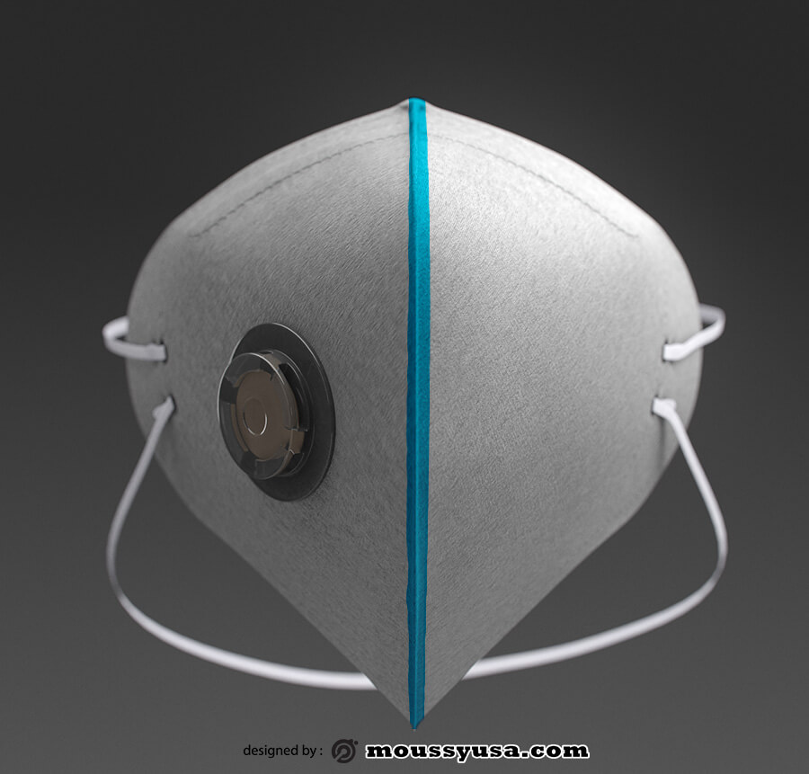 mask template free psd template