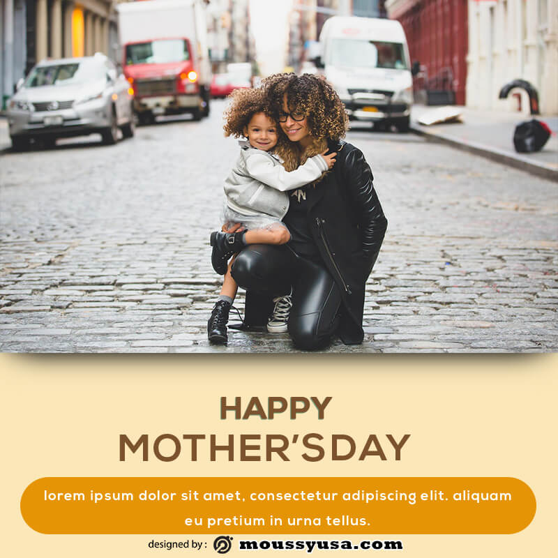 mothers day card in photoshop free download