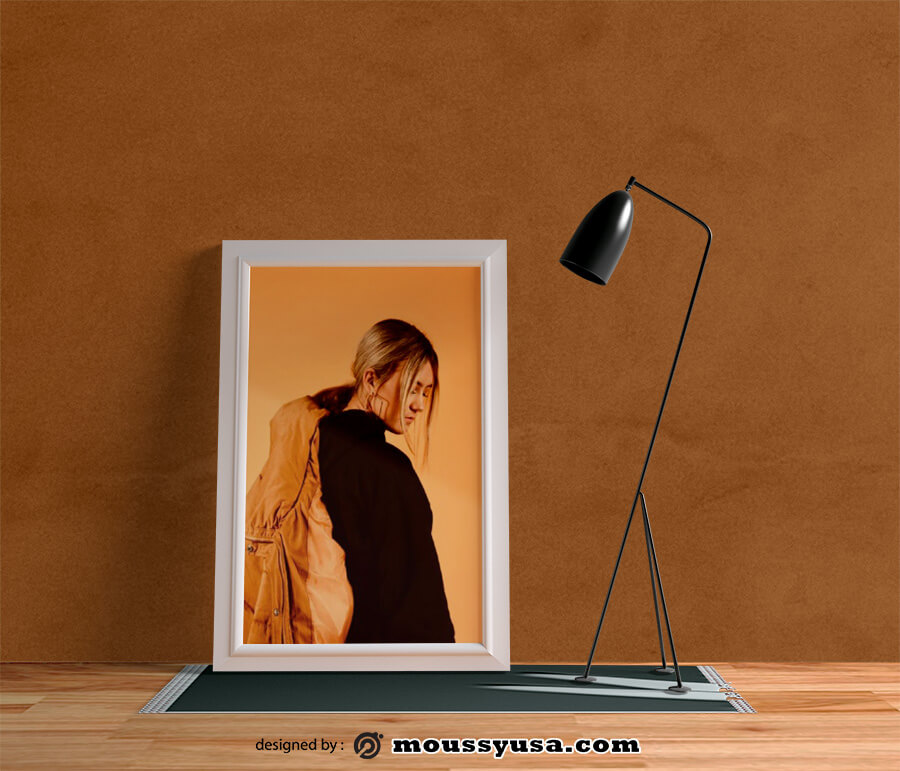picture frame in psd design