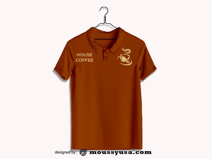 polo shirt psd template free