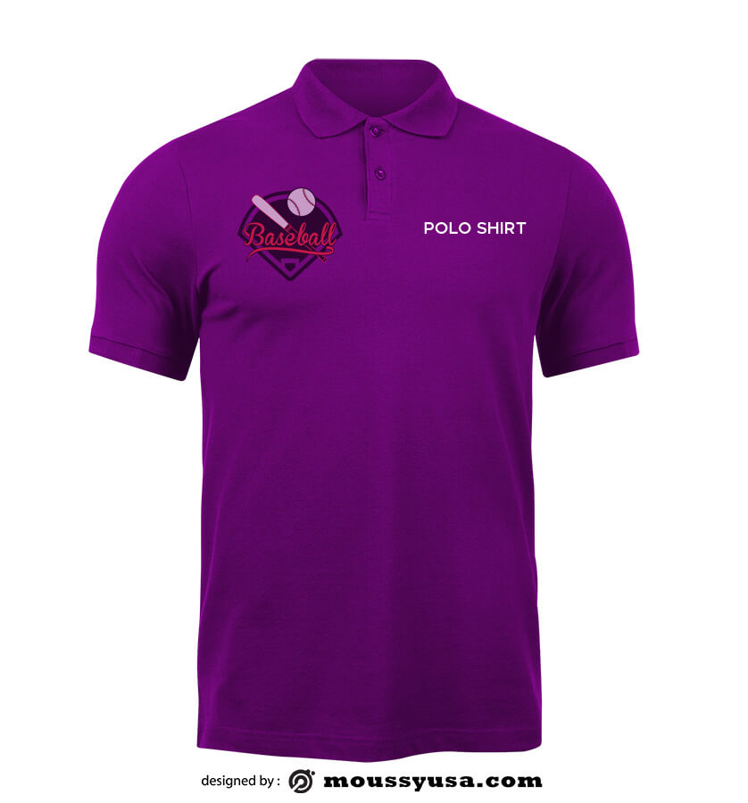 polo shirt template for photoshop