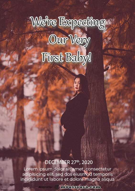 pregnant announcement in photoshop free download