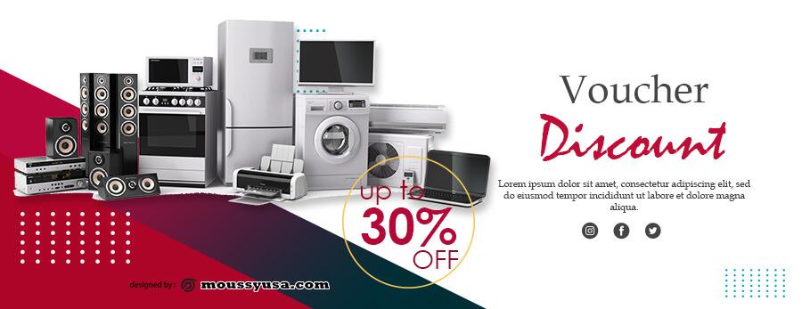 printable coupon customizable psd design template