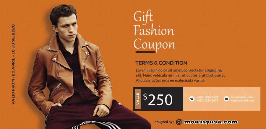 printable coupon template for photoshop