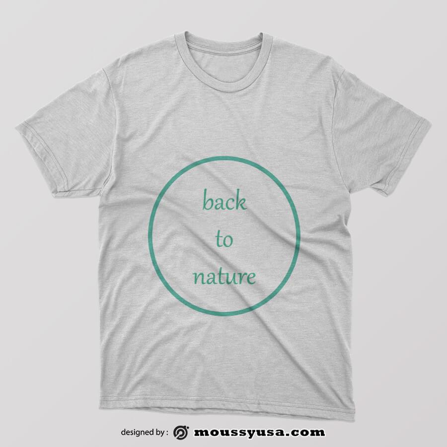tee shirts in psd design