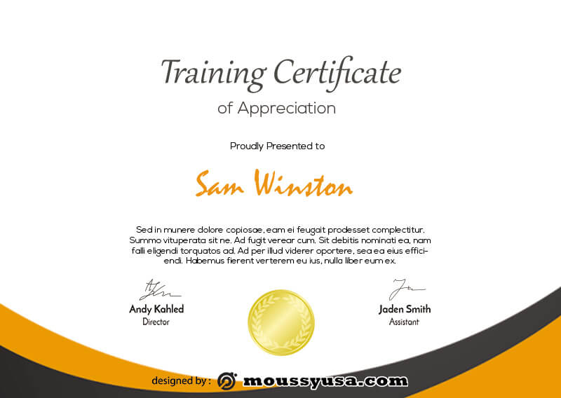 training certificate in photoshop free download