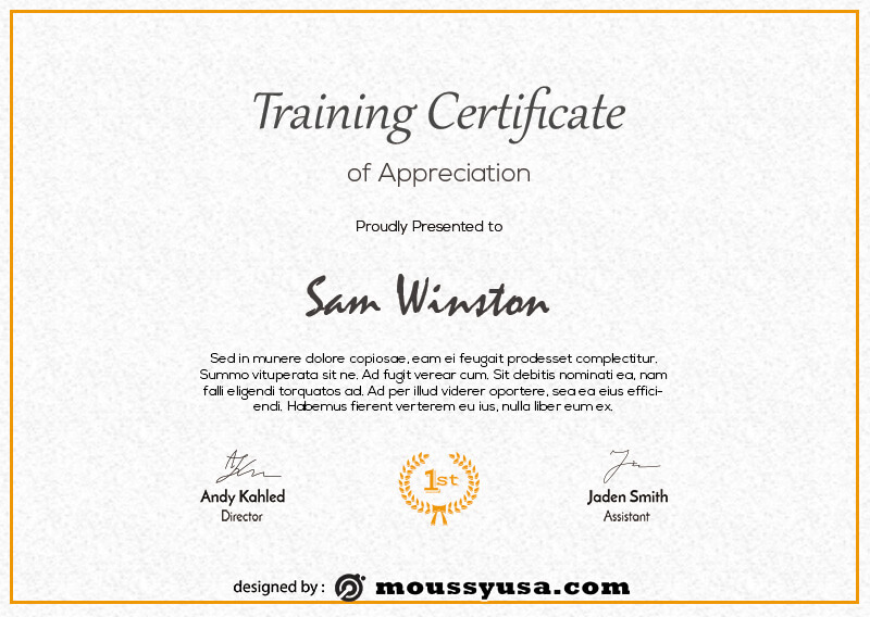 training certificate in psd design