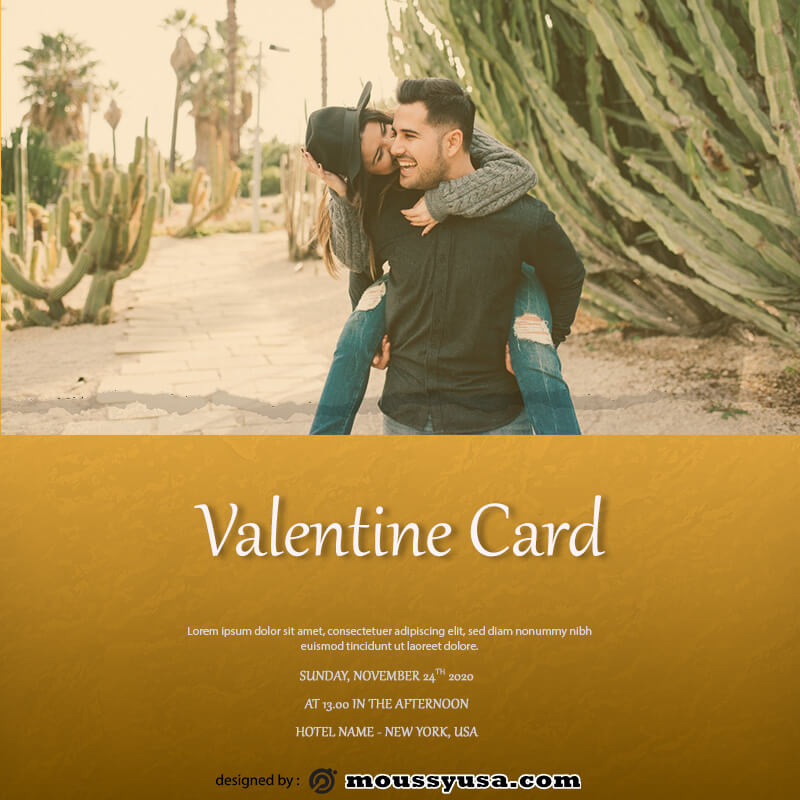 valentine card in photoshop free download